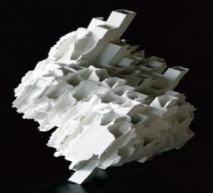 Kozo TAKEUCHI (constructions architecturales fragiles, porcelaine)