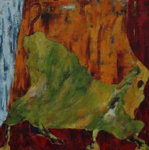 La ferme II (50x50cm)