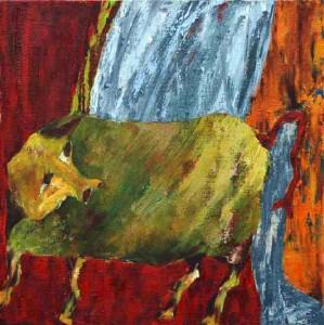 La ferme III (50x50cm)